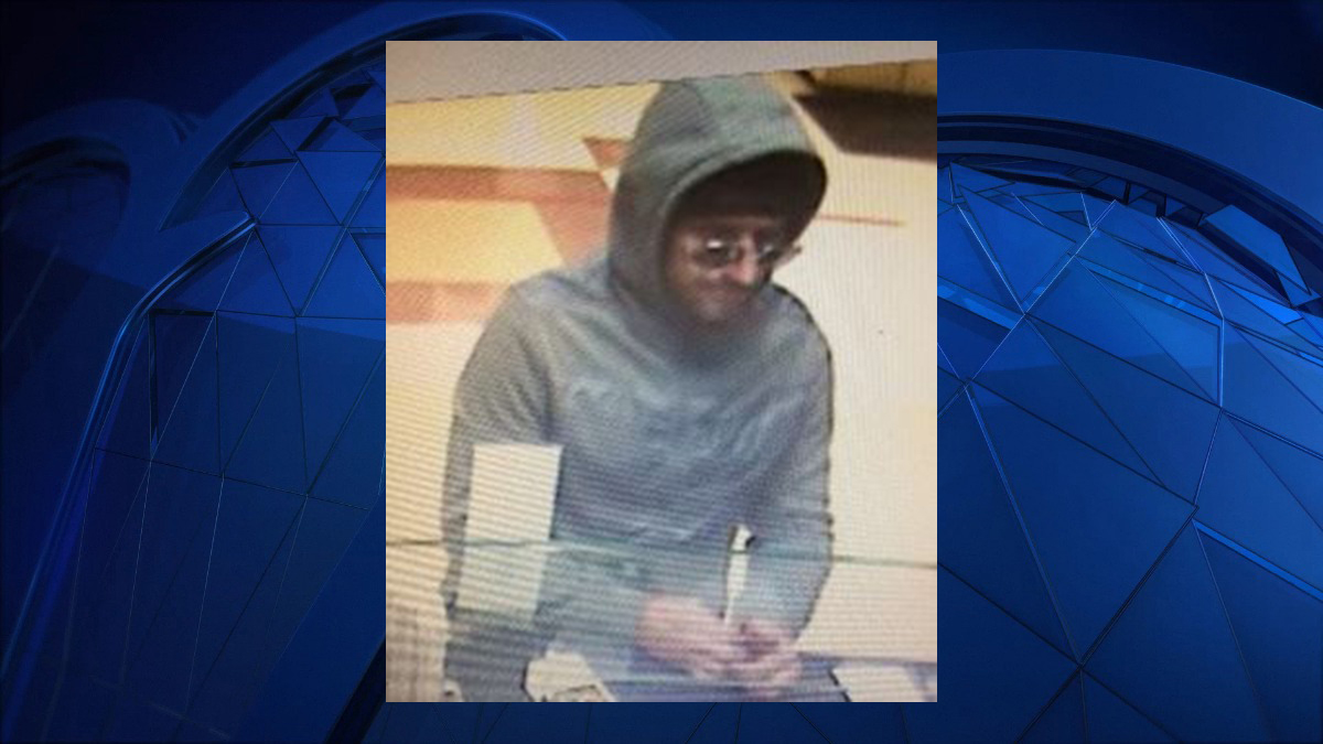 Connecticut State police said the subject pictured above robbed the People's United Bank inside the Stop & Shop on the Providence Pike (Route 44) in Putnam Tuesday.
