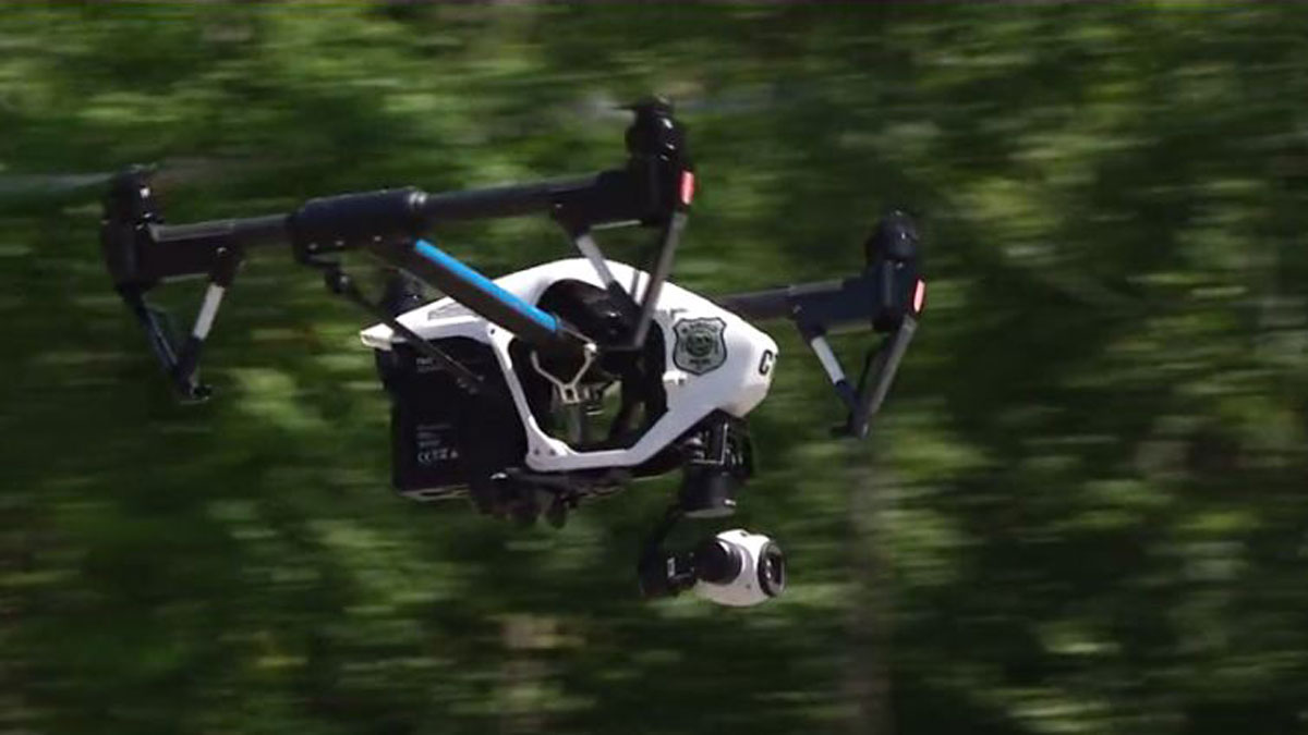 Plainfield police drone