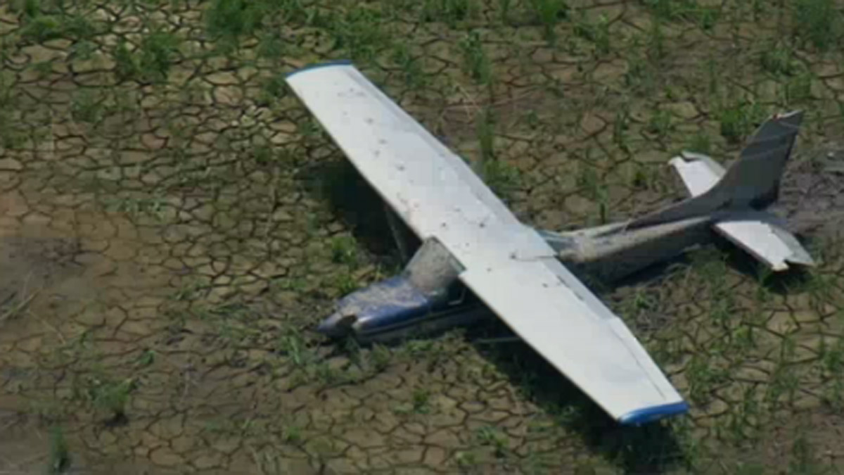 The aircraft was later located near the Delaware River in a muddy and marshy area between Fort Delaware State Park and Fort Mott State Park, New Jersey.
