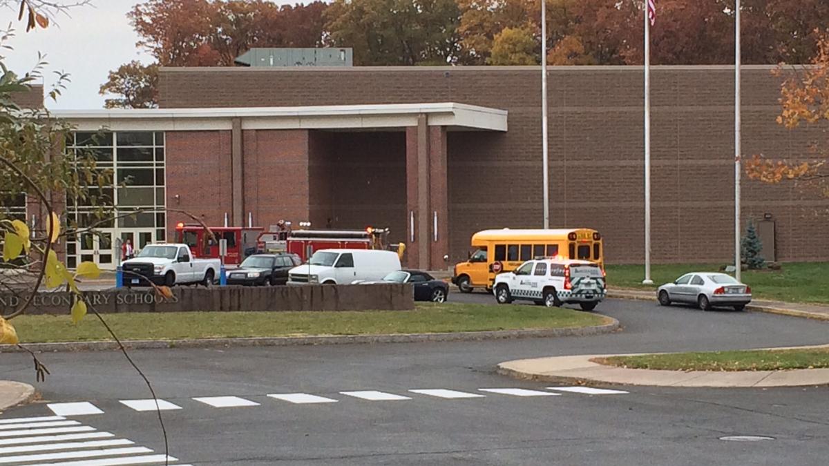 Portland High School was evacuated Wednesday morning.