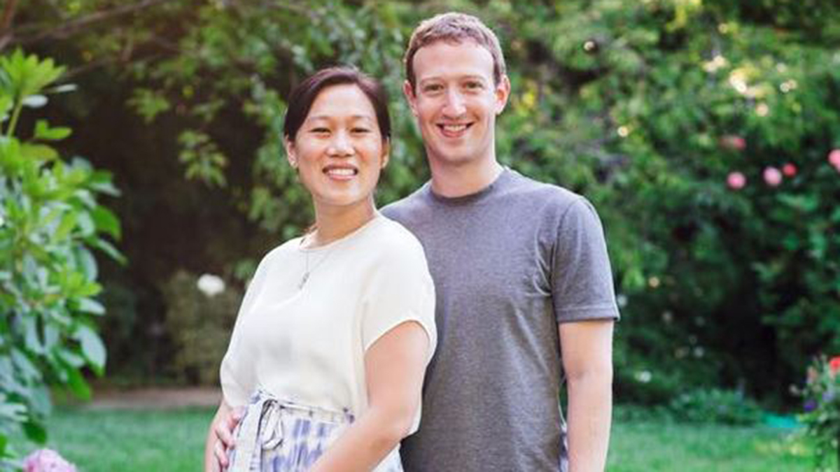 File image of Chan and Zuckerberg.