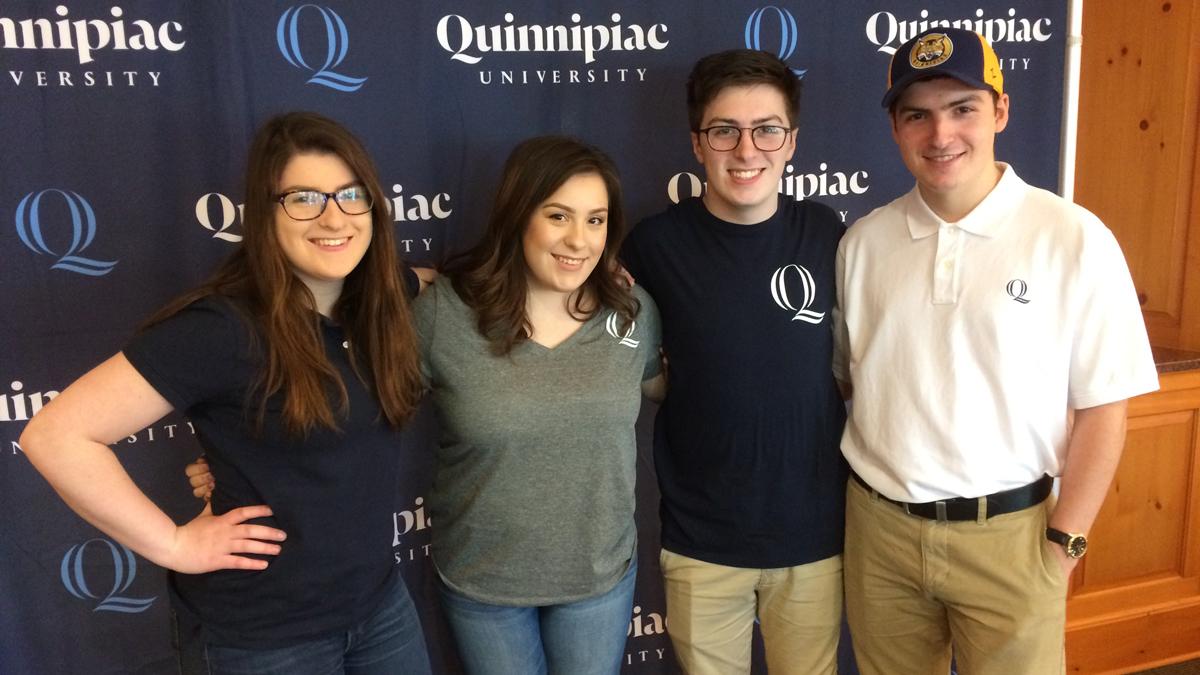 The Ciacciarella siblings are all set to attend Quinnipiac University in the fall.