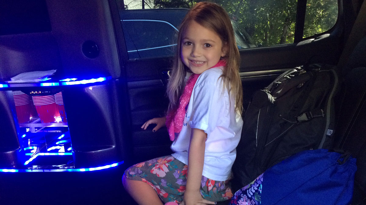 Quinn Ostergren, 6, is headed to Rio for the 2016 Olympics.
