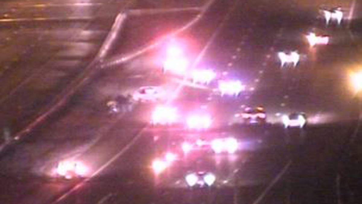 A pedestrian was struck and killed by a truck on Route 8 in Bridgeport Thursday night.