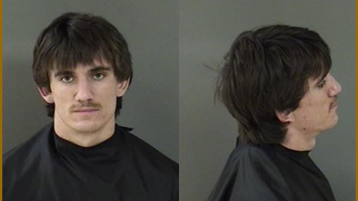 Patrick Rempe booking photo.