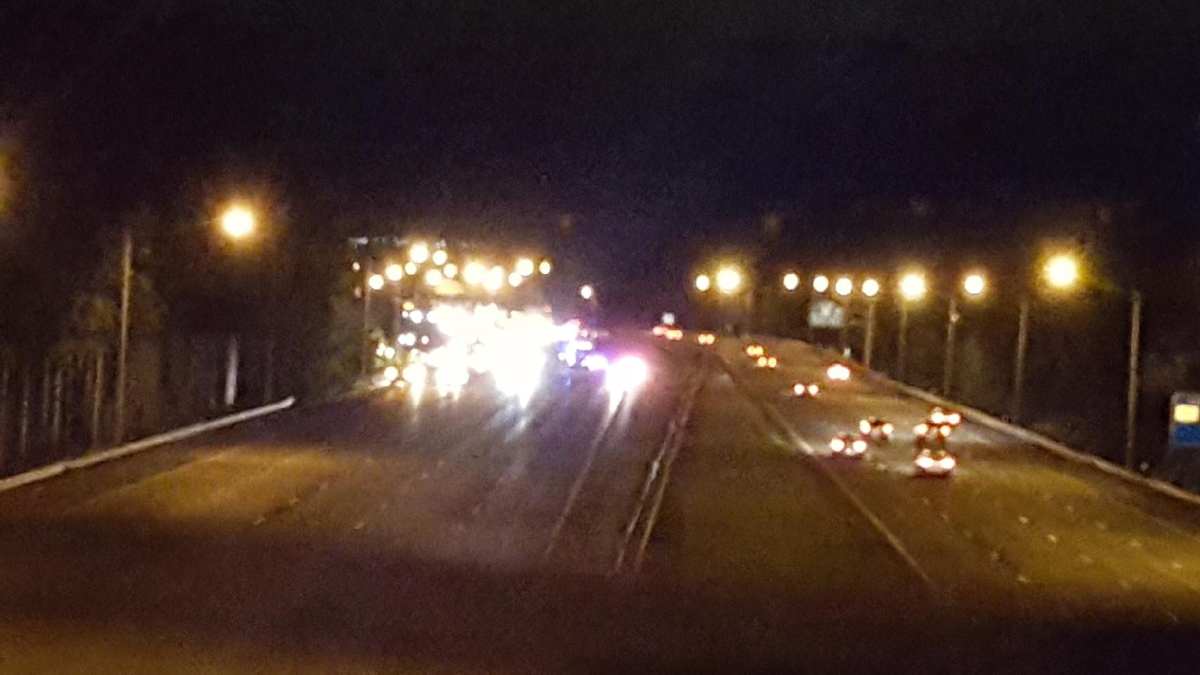 Two men in their 20s were killed in a crash on I-91 in Rocky Hill Friday night.