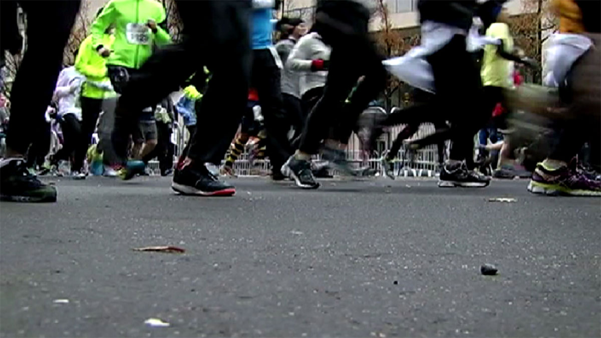 File photo of runners