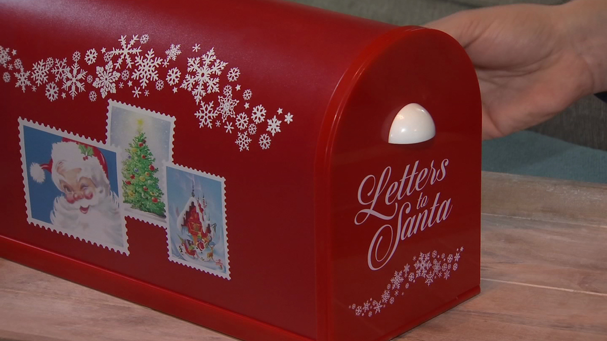 Santa's Enchanted Mailbox was invented by a Wallingford family and officially hits the stores in November.