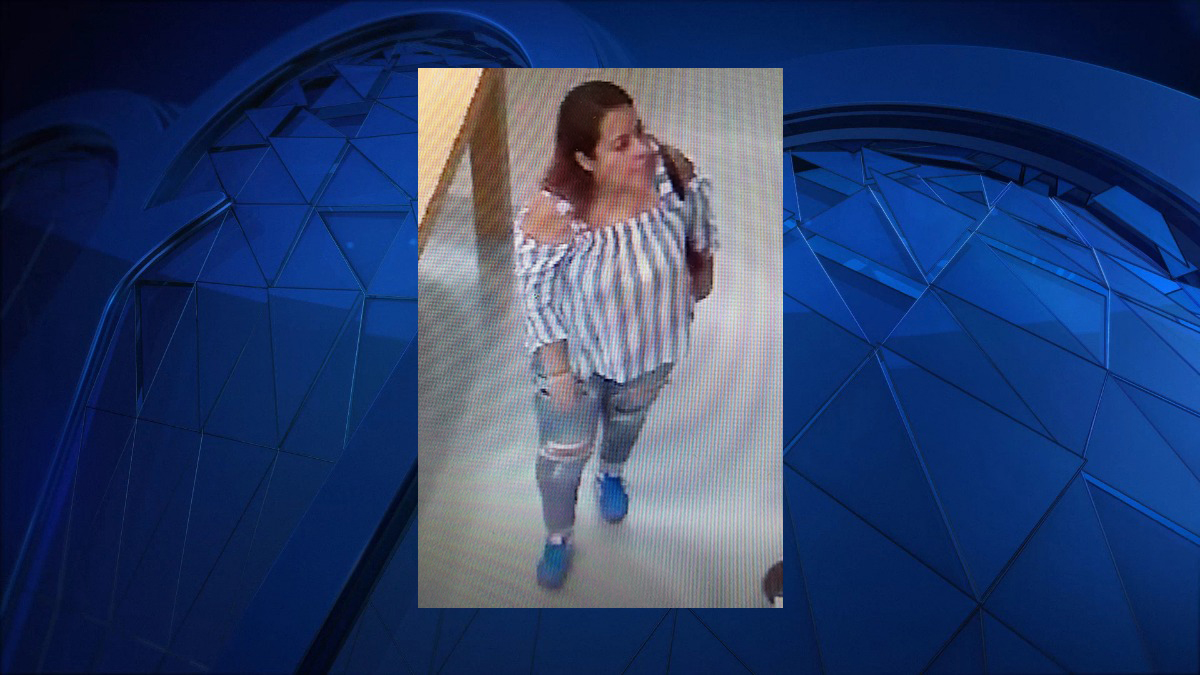 Shelton police said the subject pictured above asked a woman to try clothing on for her at TJ Maxx. When the victim came out of the dressing room, her purse and the woman were gone.
