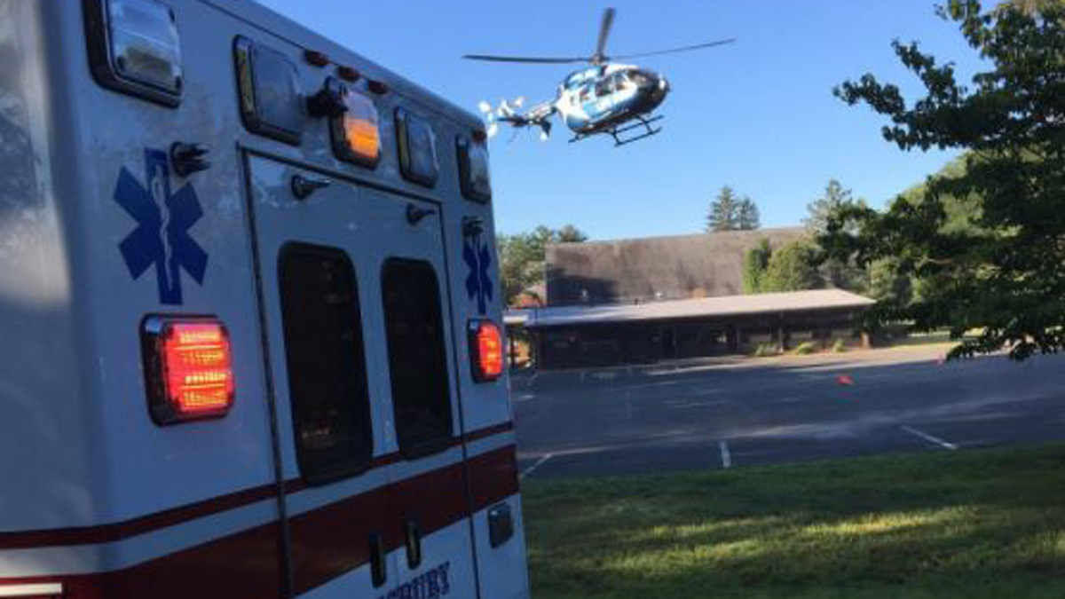 LifeStar responded to a serious crash on Hopmeadow Road (Route 10/202) in Simsbury Wednesday.