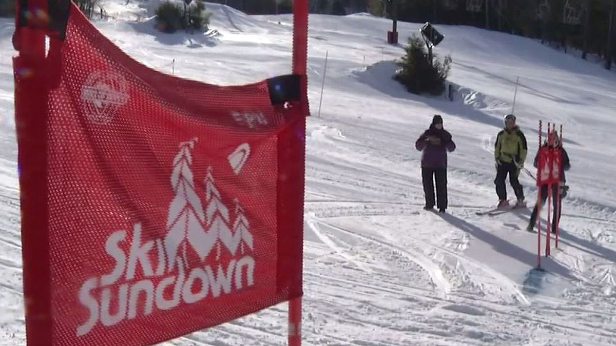 Skiers and snowboarders alike were gunning for the gold at the Ski Sundown Senior Winter Games.