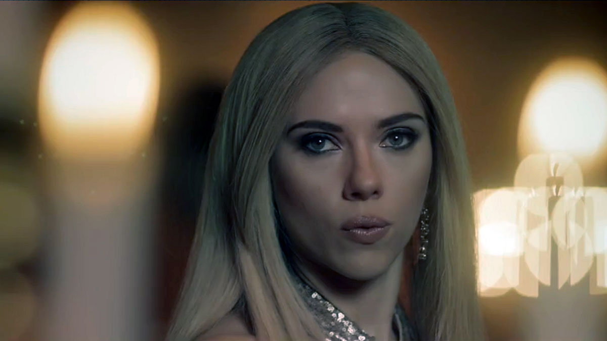 Actress Scarlett Johansson stars in