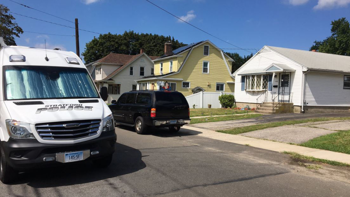Stratford police said two people are dead after a shooting incident on North Avenue Sunday.