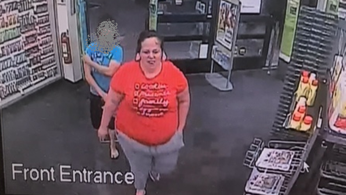 Stratford Police said the suspect pictured above is wanted for questioning in a larceny/fraud incident. The photo was pulled fro surveillance at the Walgreens in Stratford on July 26, 2017.
