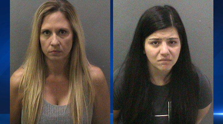 Melody Lippert (left) and Michelle Ghirelli were arrested Saturday, Jan. 17, for allegedly giving students alcohol and having sex with some during trips to an Orange County beach in winter 2014, OC Sheriff's deputies said.