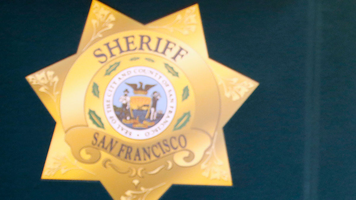The San Francisco Sheriff's Department badge is pictured in this file photo.