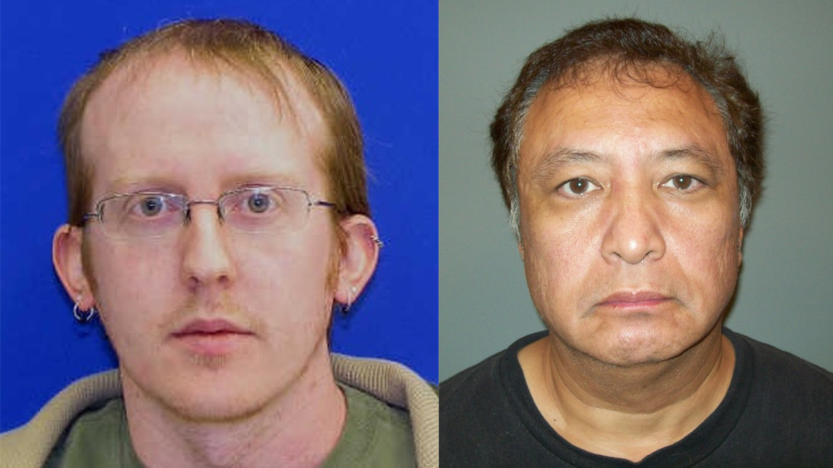 Stephen Schaffner, 34 (L), and Michael Lutts (R), 50.
