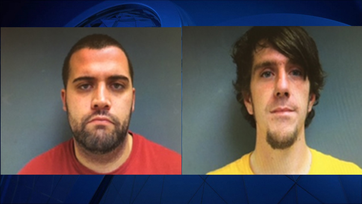 Casey Scott (left) and Zachary Stewart