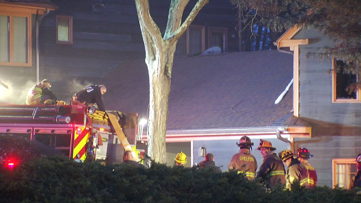 Fire crews responded to a condominium on Acorn Hollow Monday morning.