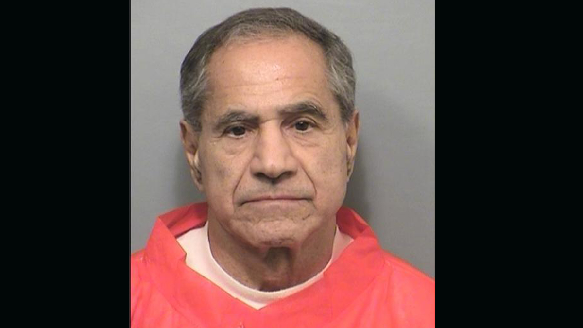 Sirhan Sirhan's booking photo on Nov. 22, 2013, as he was moved to the Richard J. Donovan facility in San Diego County.