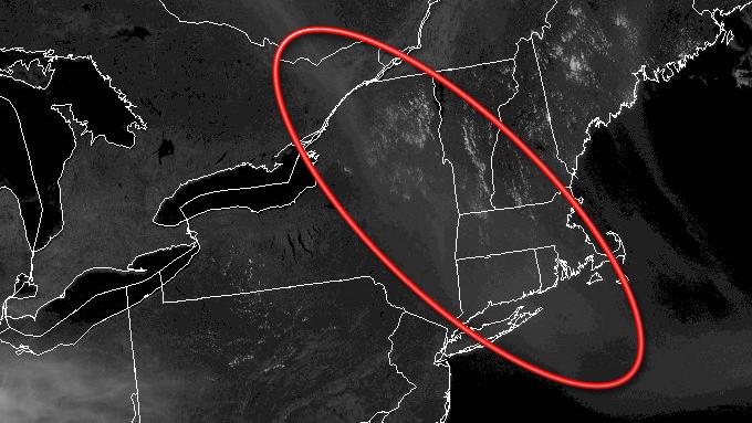 Smoke on visible satellite, May 20, 2016.