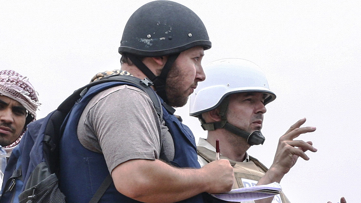 Steven Sotloff, an American journalist who was executed by ISIS militants, attended the Rumsey Hall School in Washington, Connecticut.