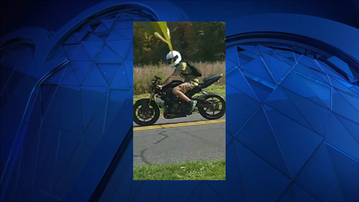 Police said the subject pictured above has been reported to be driving recklessly around the high school, and the Buckland Road/Sullivan Avenue areas