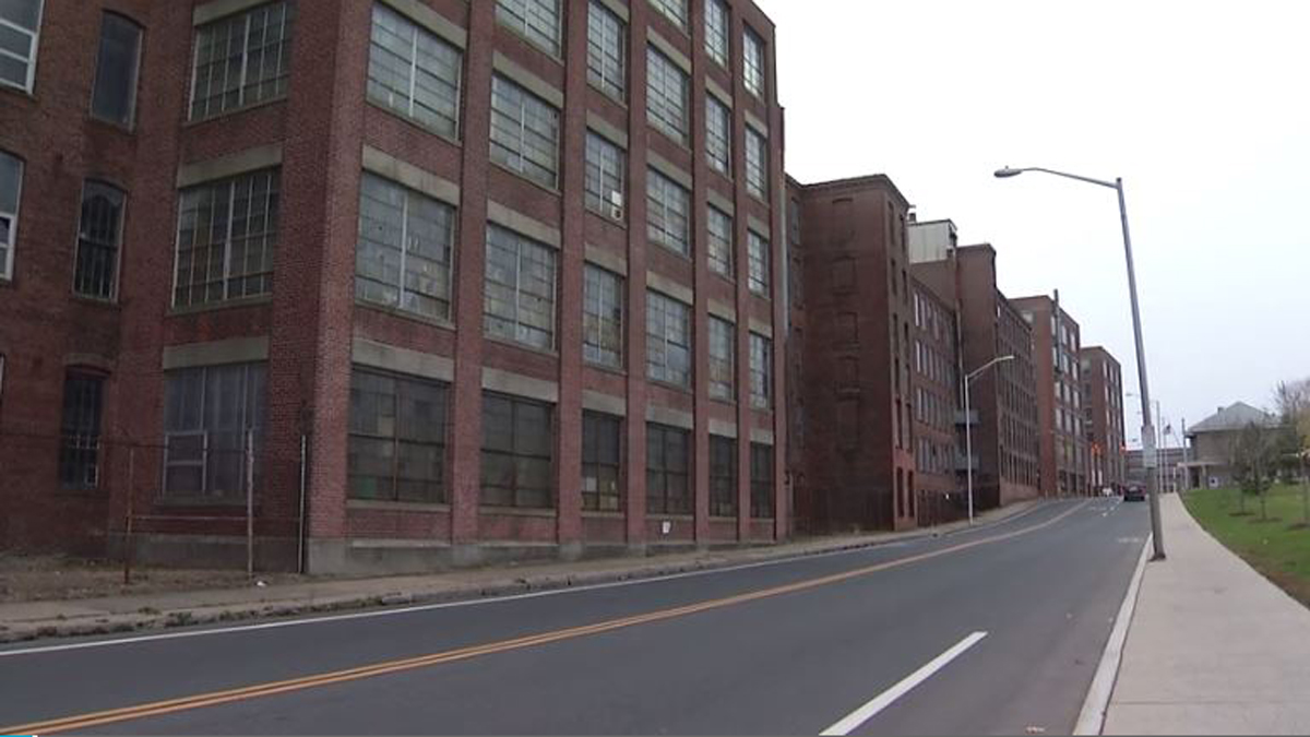 The old Stanley Black and Decker factory in New Britain