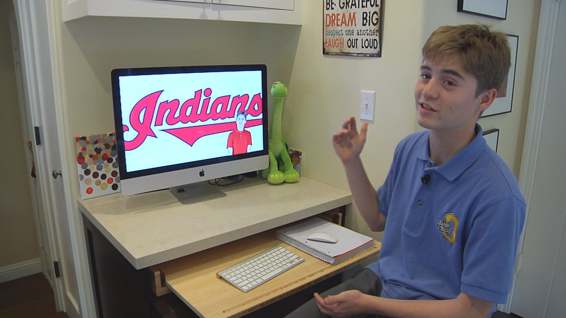Connor Garcia Whitehill, an 8th grader from Oakland, created a formula that predicted the 2016 World Series matchup for an 8th grade project.