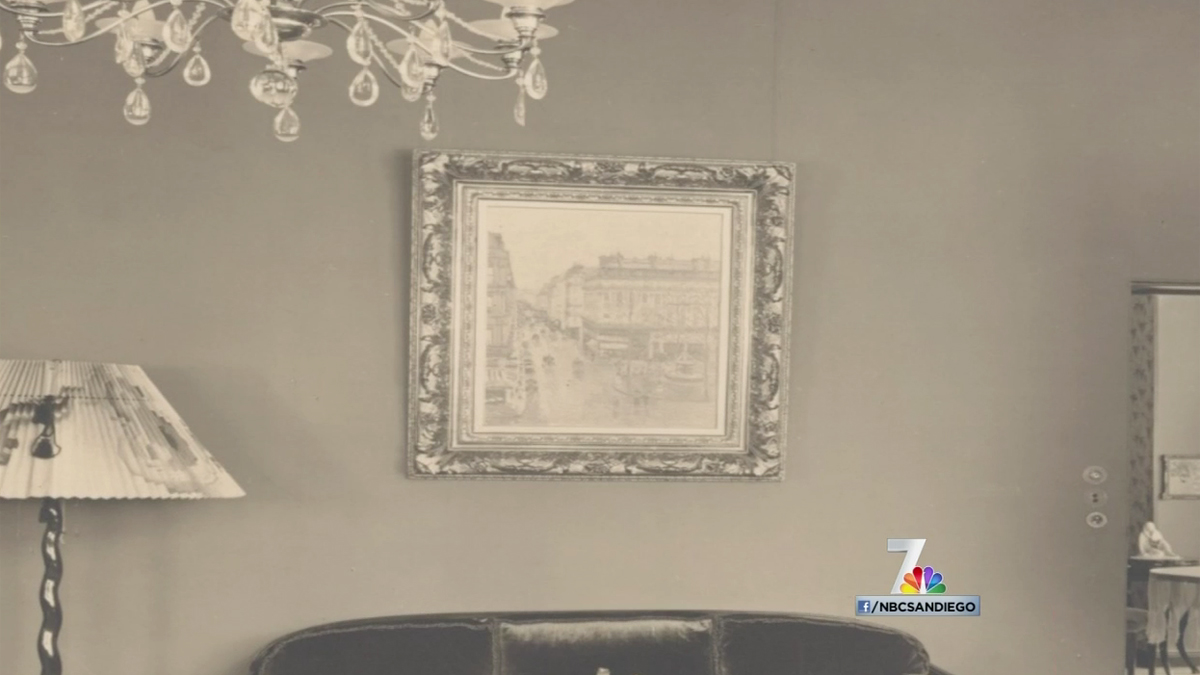 The painting was sold to Nazis for a few hundred dollars, the family said.