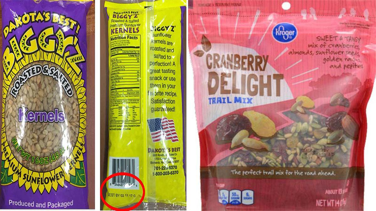Dakota's Best Biggy's Roasted and Salted Kernels by SunOpta/Kroger Cranberry Delight Trail Mix