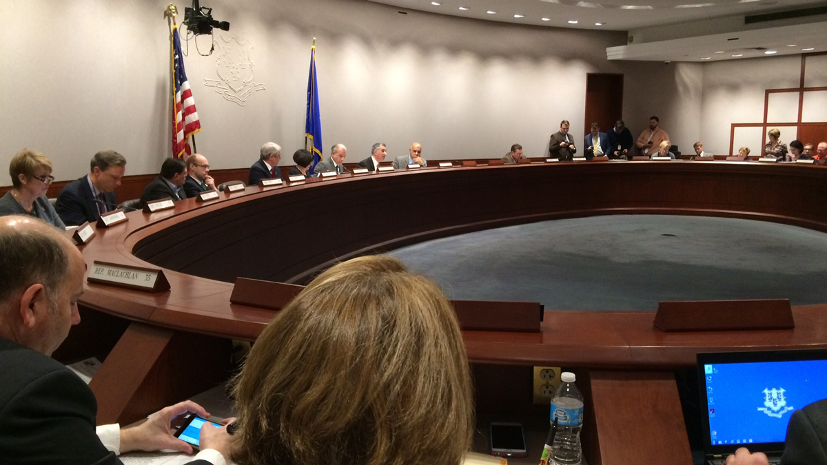 The state transportation committee held a public hearing Monday to discuss a proposed mileage tax.