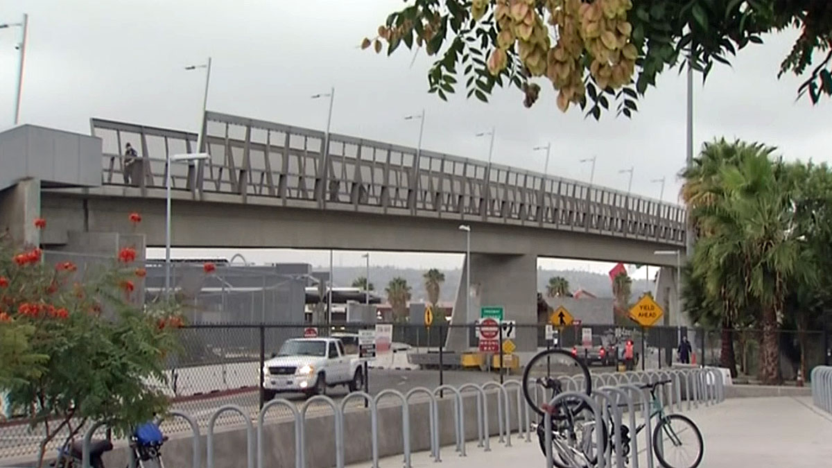 The Tijuana teenager entered the U.S. through the pedestrian entrance on Nov. 18, 2013.