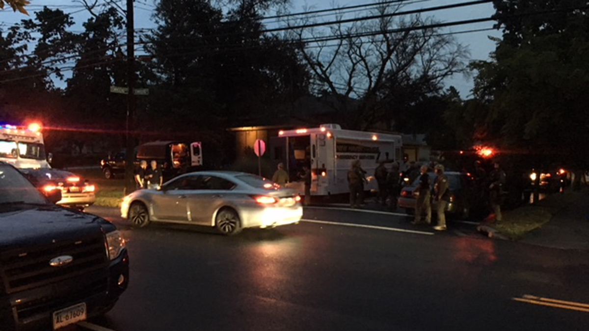 New Haven Police Lt. Barricades Self Inside Home