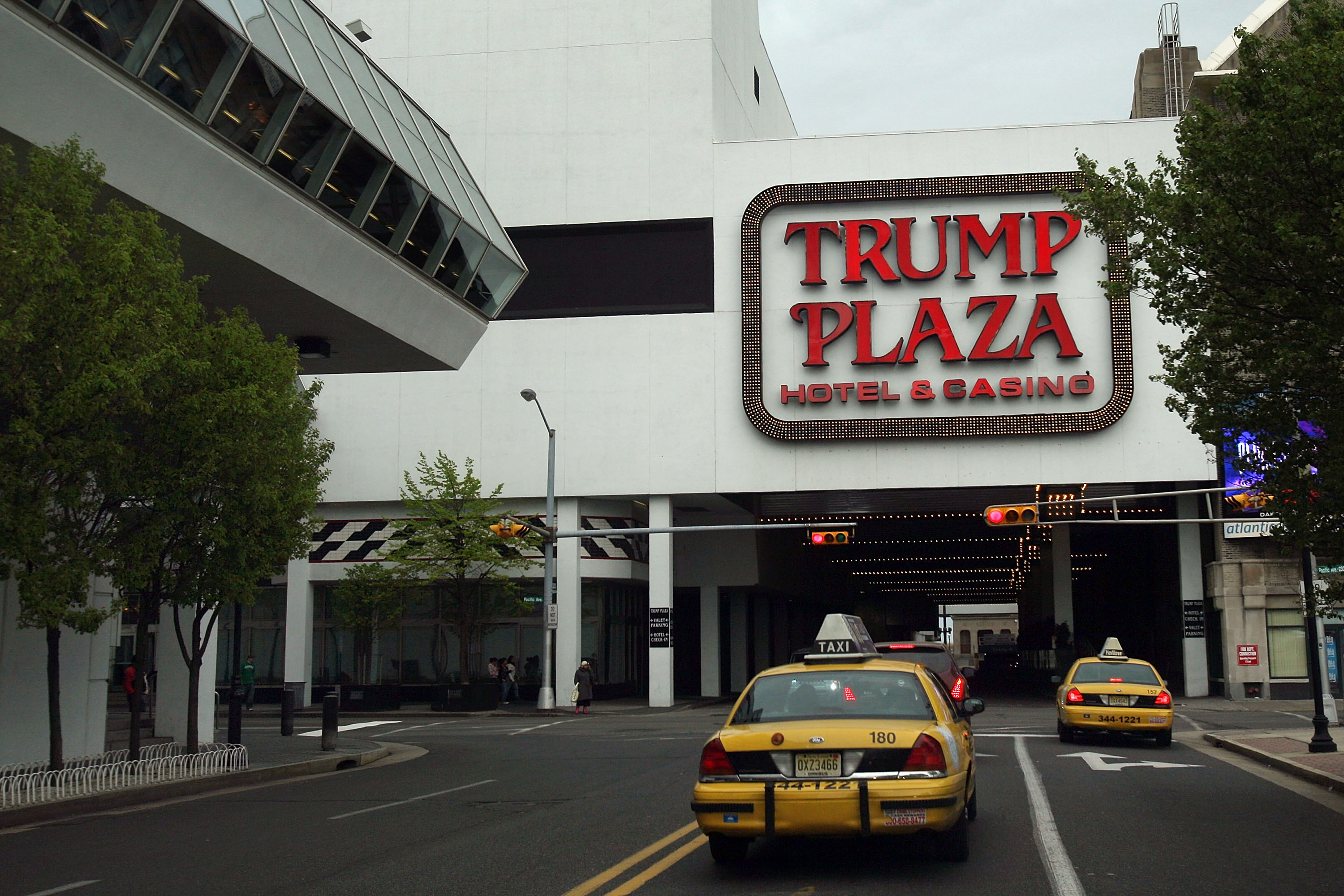 Trump Plaza in Atlantic City, N.J.