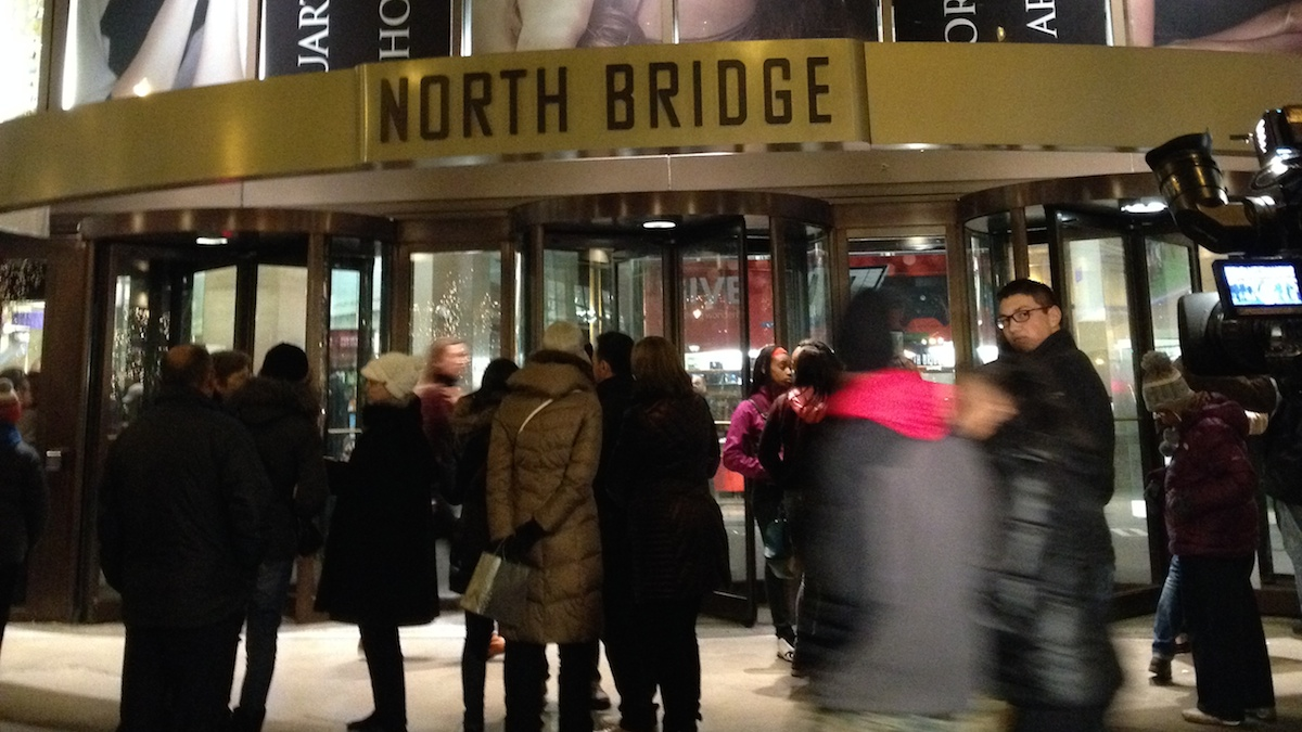 Two people were shot at a Nordstrom in Chicago Friday night, according to authorities.