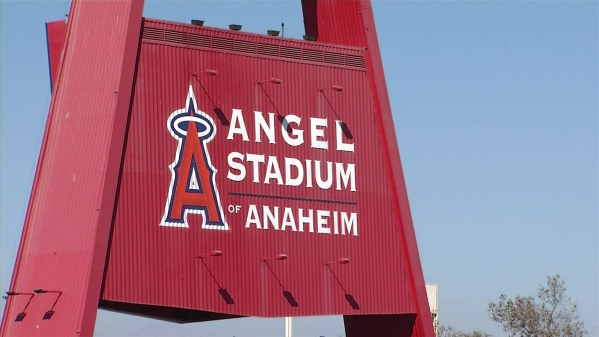 A man is in critical condition after being beaten in the Angel Stadium parking lot after the team lost its playoff game to the Kansas City Royals on Friday, Oct. 3, 2014. The 43-year-old was severely beaten by three unknown individuals, according to Anaheim police.