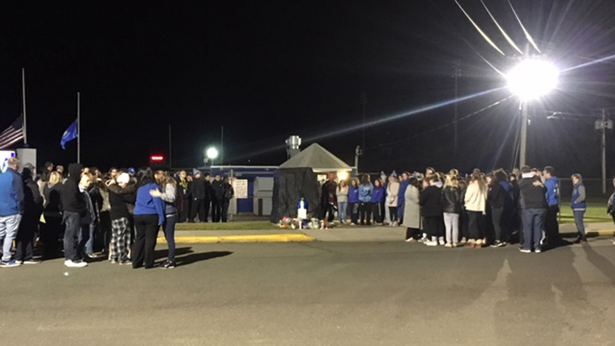 The West Haven High School community gathered at a vigil in honor of Principal Pam Gardner, who passed away after a battle with cancer.