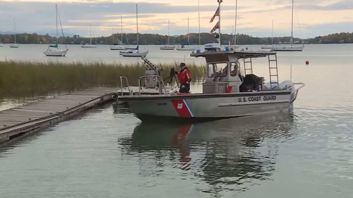 The US Coast Guard and Vermont State Police are searching Lake Champlain for a missing boater.