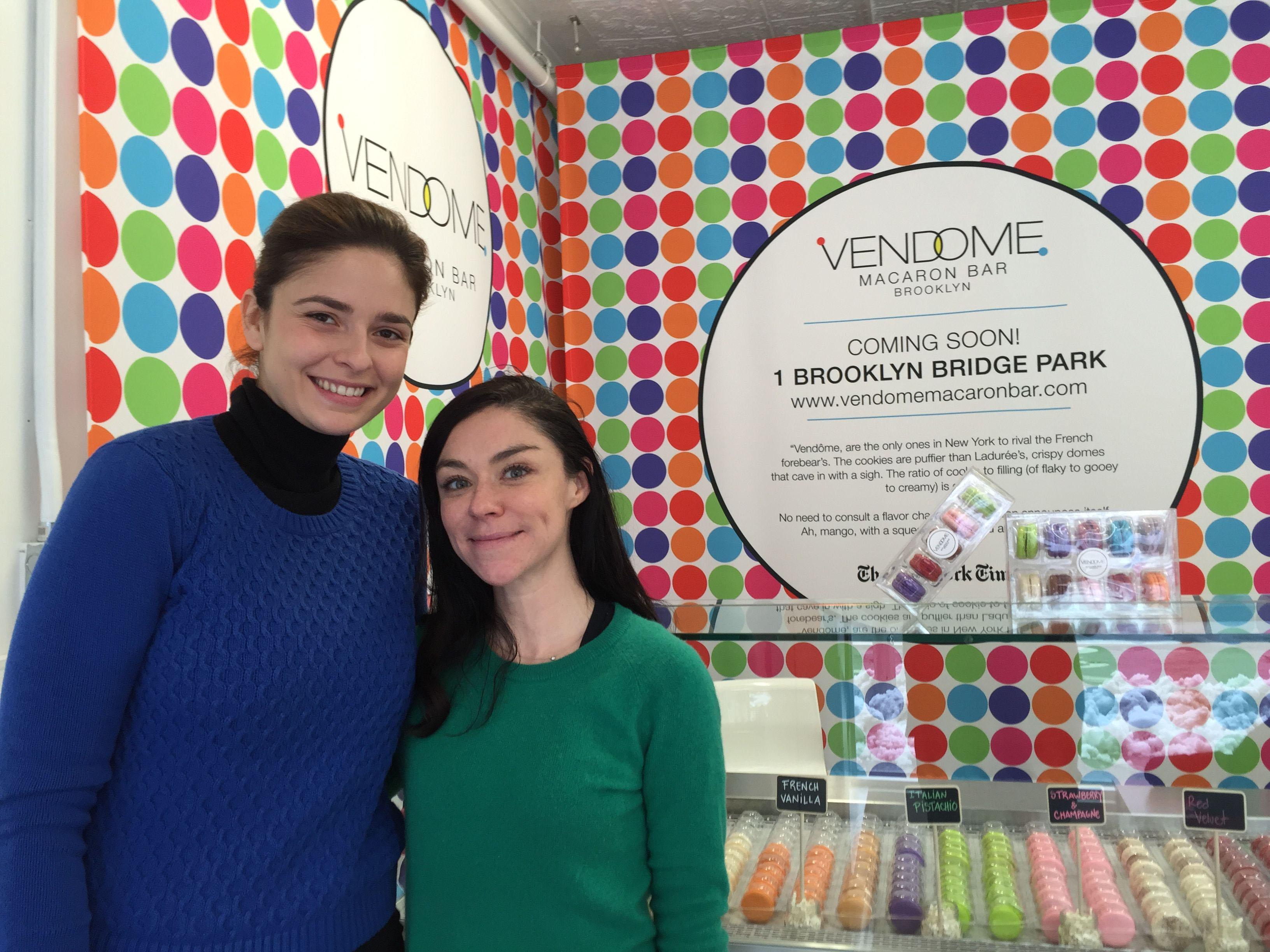 Adriana Troli and Taryn Garcia of Vendome in Brooklyn