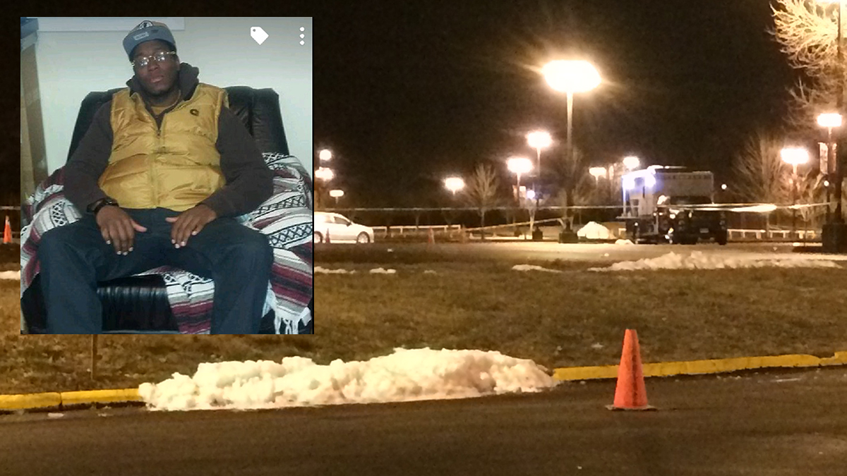 Travis Ward (inset) was one of two people killed in a shooting outside the Oakdale Theatre in Wallingford, Conn. after a Meek Mill Concert on Dec. 30, 2016.