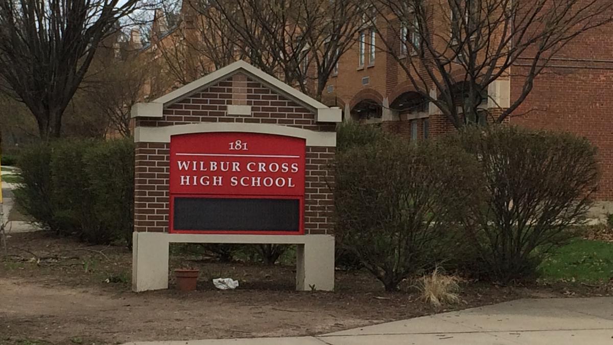 Wilbur Cross High School in New Haven