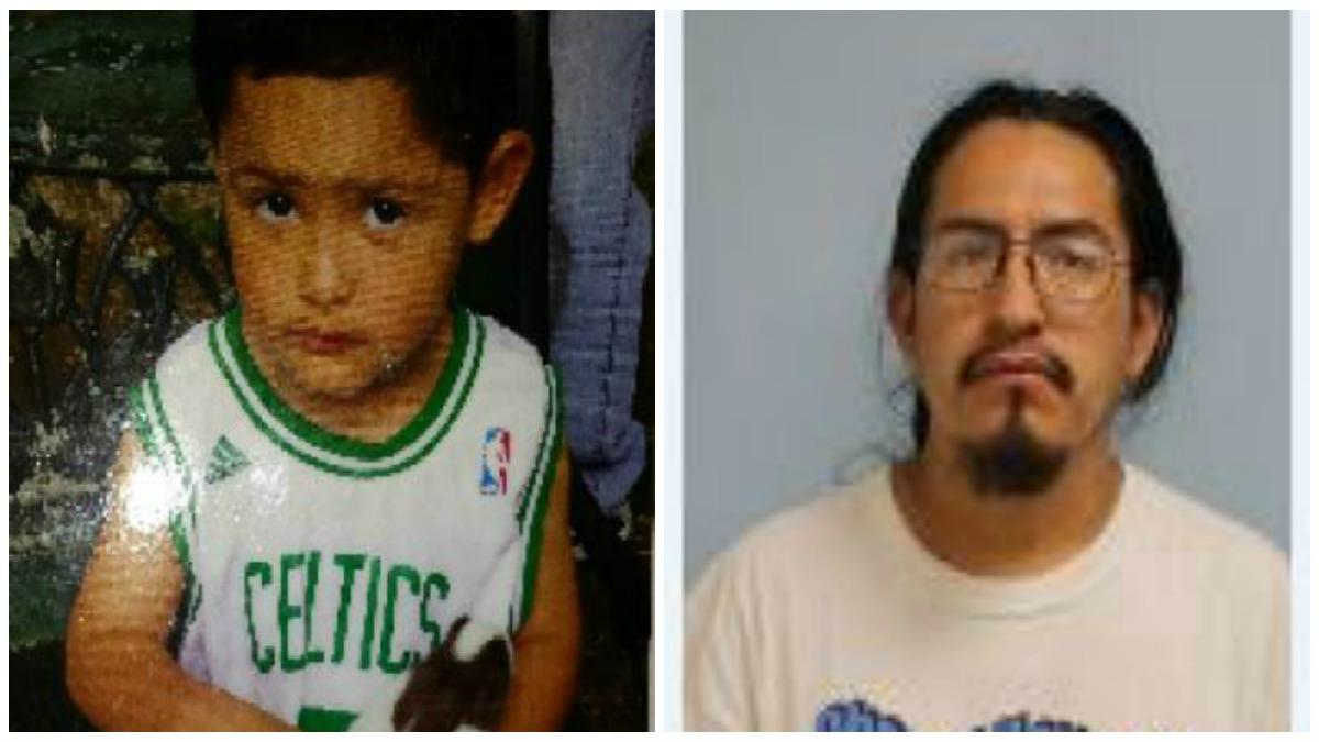 (L) Tony Juarez and his father Fermin Juarez.