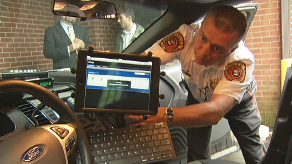 Wolcott police have replaced laptops in their cruisers with iPads.