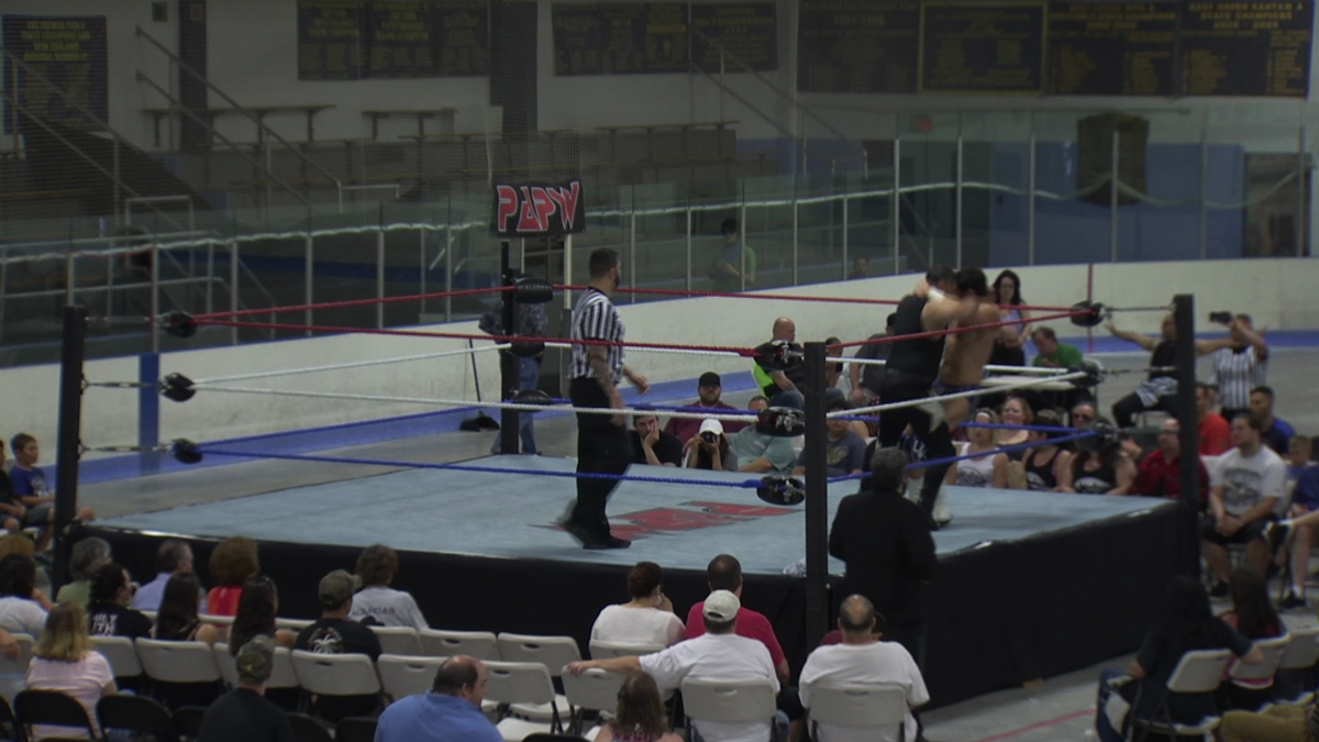 In East Haven wrestlers raised money for an autism organization and it comes after the group says it was left empty handed following a supposed fundraiser in April.
