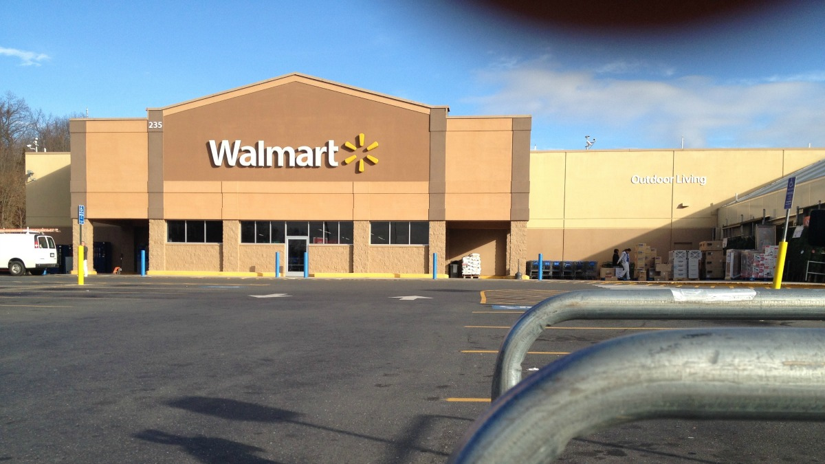 Walmart in Southington closed due to electrical-like odor.