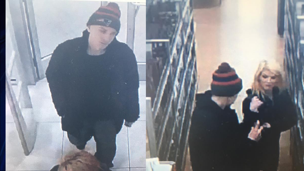 Waterford police said the subjects pictured above are accused of stealing over $200 in merchandise from an Ulta store at the Waterford Commons.