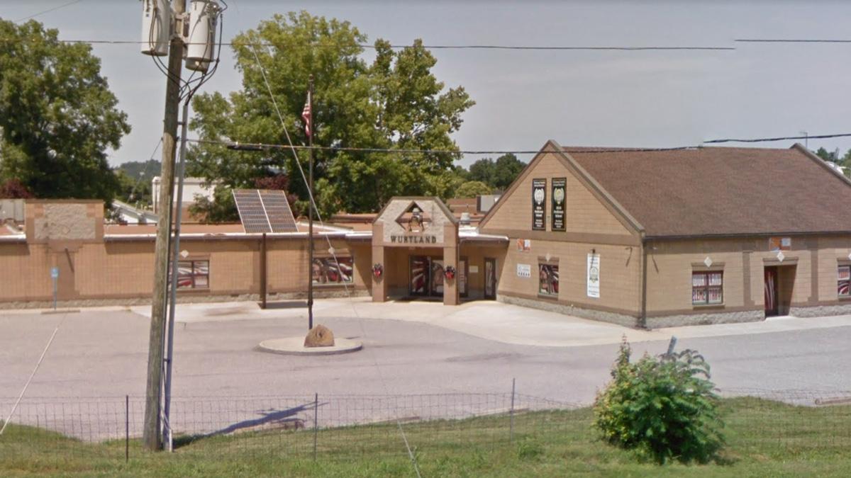 Wurtland Elementary School in Greenup County, Kentucky.