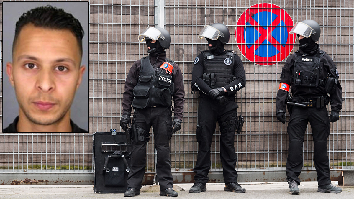 Salah Abdeslam (inset) was arrested March 18, four months after the Nov. 13, 2015, Paris attacks.
