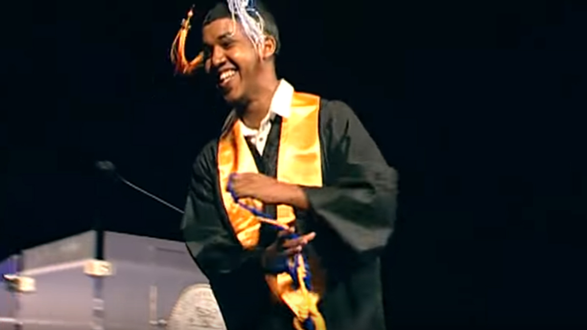 Abdul Razak Ali Artan, seen in a video of the 2016 Columbus State Community College commencement ceremony posted online.